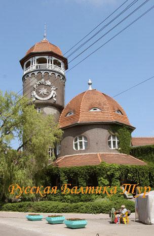 Водонапорная башня в Светлогорске