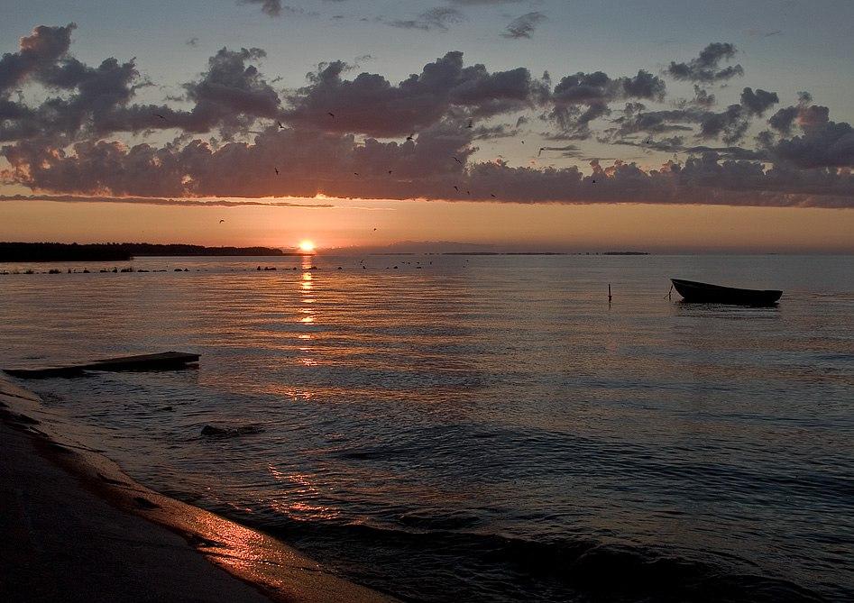 Вечер на заливе